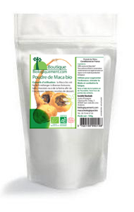 Achetez de la poudre de maca bio sur la boutique en ligne Biologiquement.com