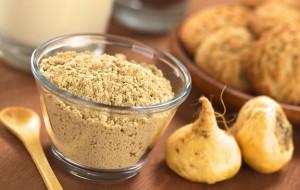 Poudre de racine de maca bio riche en antioxydant puissant